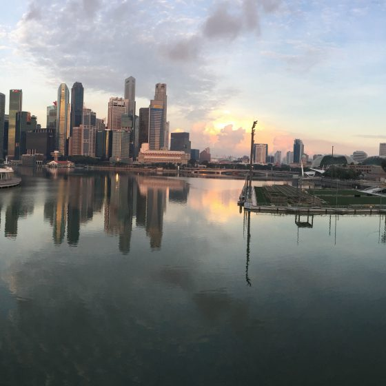 Singapore morning run